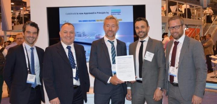 Cold Pad OTC Houston 2018 - Remise de certificat DNV GL