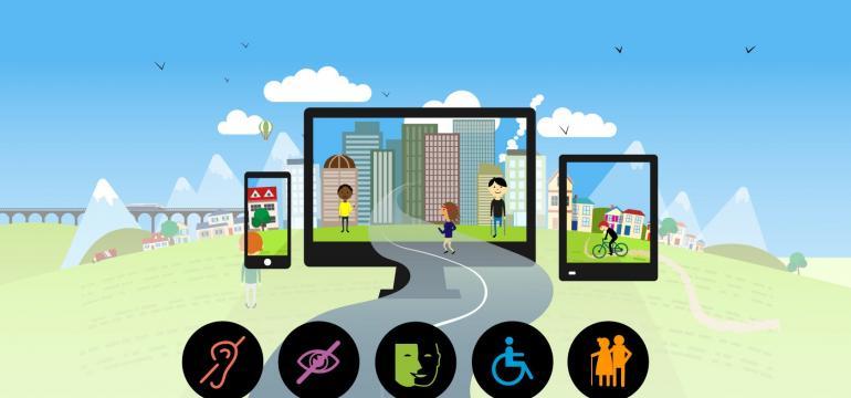 Illustration accessibilité numérique Koena