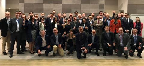 Lancement Total Pool PME 2019 - Photo de groupe
