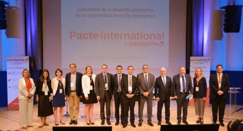 Lancement de la plateforme en ligne Pacte International