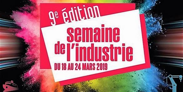 Semaine de l'industrie 2019