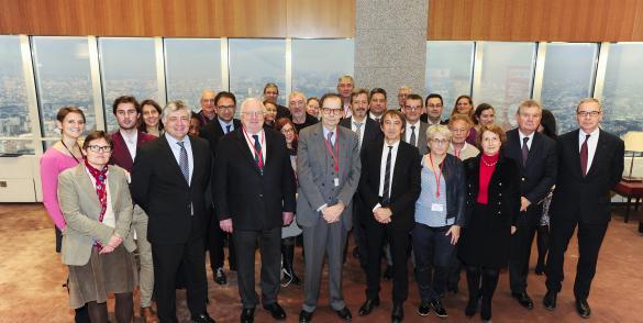 Les équipes de TDR et Initiatve France