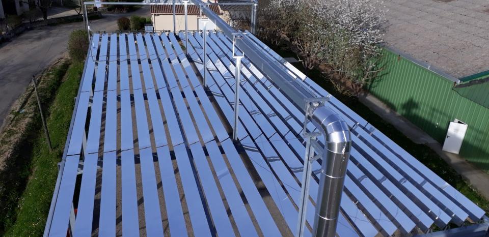 Centrale à concentration solaire, HELIO SMART